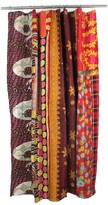 Melange Home One of a Kind Kantha Shower Curtain - 72 x 72