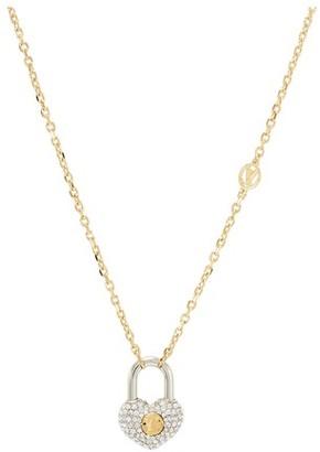 Louis Vuitton Crazy In Lock Strass Supple Necklace