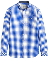 Joules Hewney Gingham Classic Fit Shirt, Bold Blue