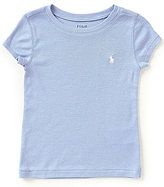 Ralph Lauren Little Girls 2T-6X Short-Sleeve Crew Neck Tee
