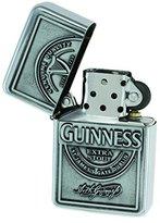 Guinness Wind-Proof Embossed Label Oil Lighter