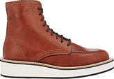 Givenchy Men's Apron-Toe Ankle Boots-TAN