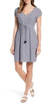 Tommy Bahama Women's Greek Cay Jersey Drawstring Dress