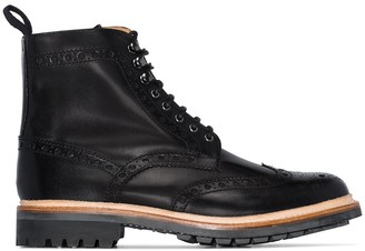 Grenson Fred lace-up boots