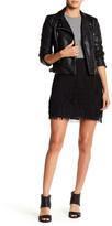 Nicole Miller Fringe Mini Skirt