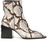 Alexander Wang Python-print Parker Boots