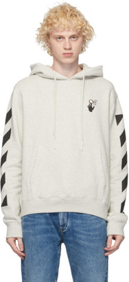Off-White Grey Agreement Hoodie