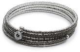 Anne Klein Crystal Wrap Bracelet