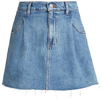 Free People Cosmico Denim Mini Skirt