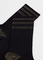 MANGO Metal Thread Socks