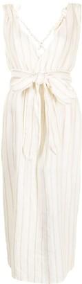 Mara Hoffman Calypso cross-strap dress