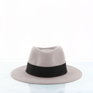 Maison Michel Silver Wool Hats