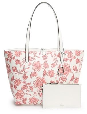 Lauren Ralph Lauren Floral Reversible Tote