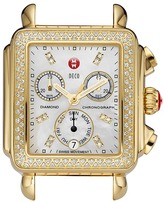 Michele Deco Diamond Gold, Diamond Dial
