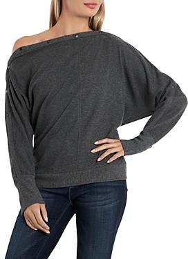 Vince Camuto Vine Camuto Dolman Sleeve One Shoulder Sweater