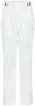 Rotate by Birger Christensen Wilde high-rise faux leather pants
