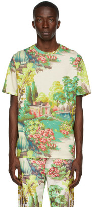 Paul Smith 50th Anniversary Green Manor House T-Shirt