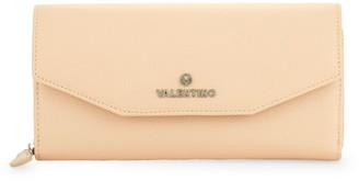 Mario Valentino Valentino By Marcus Pebbled Leather Wristlet Wallet