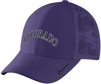 Nike Adult Colorado Rockies Vapor Classic Stretch-Fit Cap