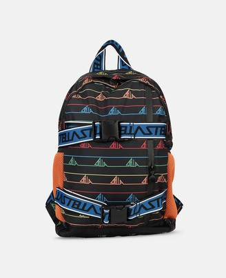 Stella McCartney Sport Backpack with Logo Tape, Men's