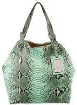 Ralph Lauren Python Tote Bag