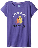 Life is Good Together Hug CrusherTM Tee (Little Kids/Big Kids)