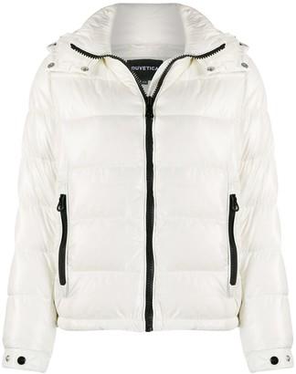 Duvetica hooded puffer jacket