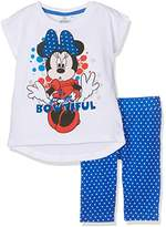 Disney Girl's Minnie Mouse Sportswear Set,(Manufacturer Size:6 Years)