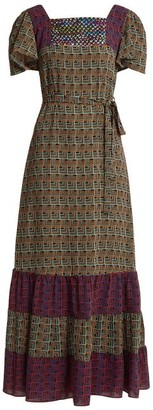 Duro Olowu Geometric Print Dress - Womens - Black Print