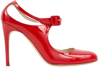 Rupert Sanderson Red Patent leather Heels