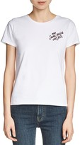 Maje Tino Embroidered Tee