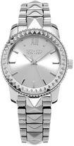 SO & CO NY Womens Madison Stainless Steel Bracelet Dress Pyramid Design Quartz Watch J155P58