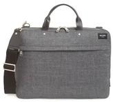 Jack Spade Men's 'Tech Oxford' Slim Laptop Briefcase - Grey