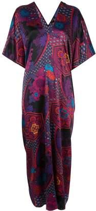 Natori abstract print tunic dress