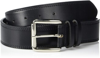 Stacy Adams Men's Dylan 40mm Burnished Leather Belt