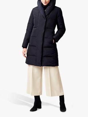 Hobbs Winnie Puffer Coat, Navy