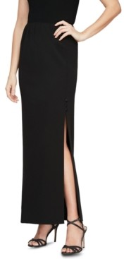 Alex Evenings Pull-On Maxi Skirt