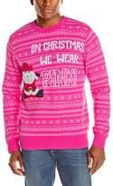 Alex Stevens Men's We Wear Pink Ugly Christmas Sweater