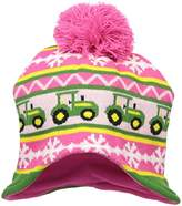 John Deere Little Girls' Winter Hat