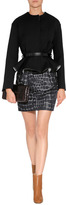 Viktor & Rolf Woll Peplum Jacket in Black
