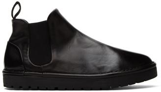 Marsèll Black Gomme Sancrispa Alta Beatles Boots