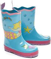 Kidorable Aqua Mermaid Rain Boot - Toddler & Girls