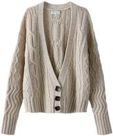 La Redoute Collections Wool Blend V-Neck Cardigan