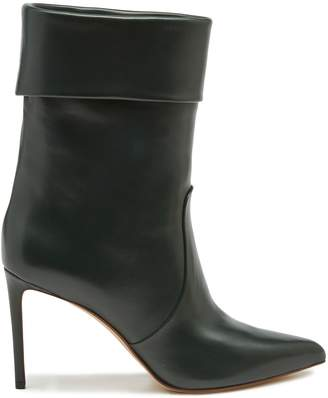 Francesco Russo Slouchy leather ankle boots