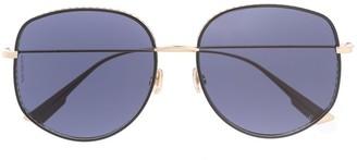 Christian Dior DiorByDior2 oversized-frame sunglasses
