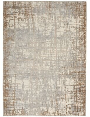 """Calvin Klein Abstract Taupe Rug Rug Size: Rectangle 5'3"""" x 7'3"""""""