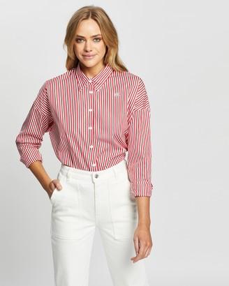 Lacoste L!Ve City Stripe LS Shirt