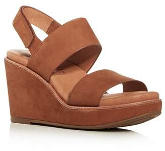 Kenneth Cole Gentle Souls by Women's Hope Slingback Platform Wedge Sandals