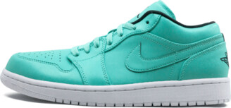 Jordan Air 1 Retro Low 'Hyper Turquoise' Shoes - Size 9