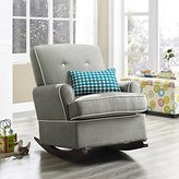 Baby Relax Tinsley Nursery Rocker Chair, Gray